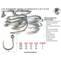 Anzuelo simple doble PROANGLERS 10/0