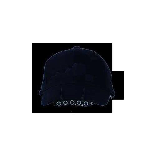 Linterna con gorra