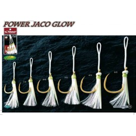 Anzuelo jig POWER JACO GLOW de Shout