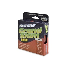 Trenzado HI-SEAS Grand Slam 0.20 mm rojo