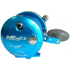 Carrete Avet Reels  JX 6.0 MC RH-BLUE