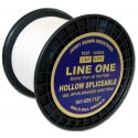 Trenzado Jerry Brown Hollow Spectra  1200 yds 300 lbs white