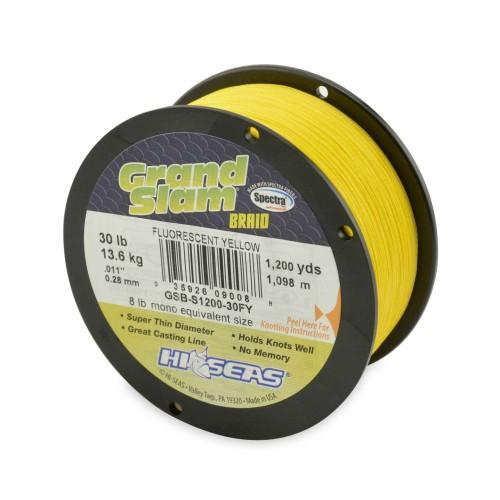 Trenzado HI-SEAS Grand Slam 0.46 mm amarillo
