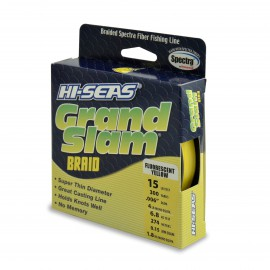 Trenzado HI-SEAS Grand Slam 0.15 mm amarillo
