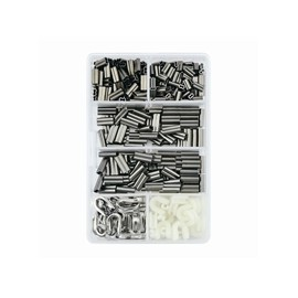 kit HI-SEAS ALUMINUM SINGLE SLEEVES RIGGING 335 PC