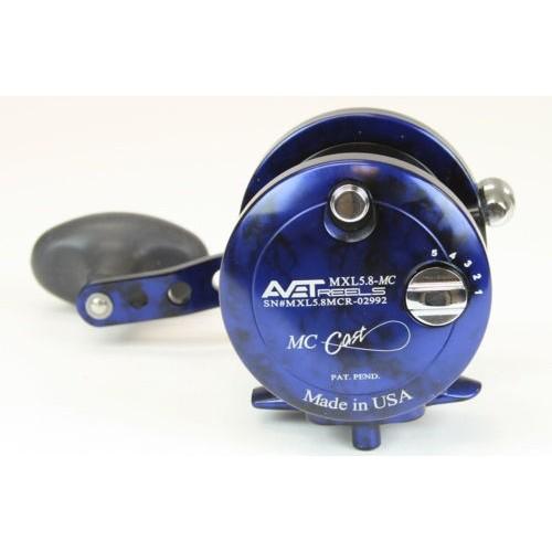 Carrete Avet Reels MXL 5.8 LH- black/blue/camo