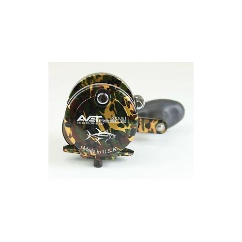 Avet Reels HXW 5/2 RAPTOR RH- green/camo