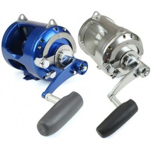 Carrete Avet Reels TR-X 50W RH-BLUE 2-SPEED