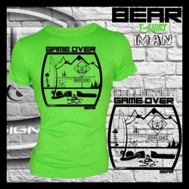 Camiseta de pesca HotSpot Desing GAME OVER - BEAR Talla M