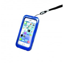 Funda waterproof Iphone azul CELLY.