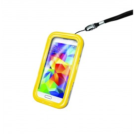 Funda waterproof Galaxy amarilla CELLY.