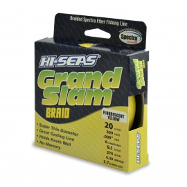 Trenzado HI-SEAS Grand Slam 0.20 mm amarillo