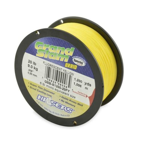 Trenzado HI-SEAS Grand Slam 0.20 mm amarillo