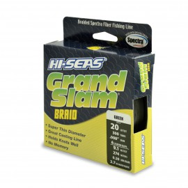 Grand Slam Braid, 20 lb, green