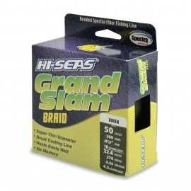 Grand Slam Braid, 50 lb, green
