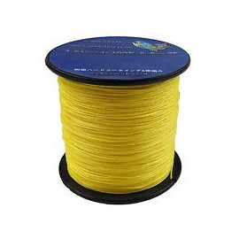 Trenzado Jerry Brown Hollow Spectra  1200 yds 200 lbs YELLOW