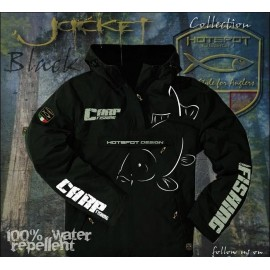 Jacket HotSpot Desing CARPFISHING ECO Black Size M