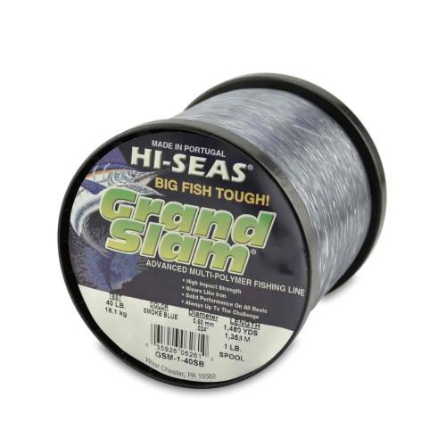 Monofilamento HI-SEAS Grand Slam 40 lbs BLUE