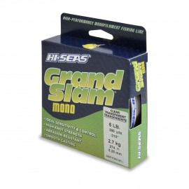 Monofilamento HI-SEAS Grand Slam 6 lbs CLEAR