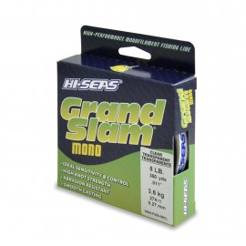Monofilamento HI-SEAS Grand Slam 8 lbs CLEAR