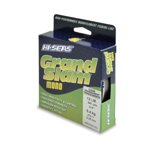 Monofilamento HI-SEAS Grand Slam 12 lbs CLEAR