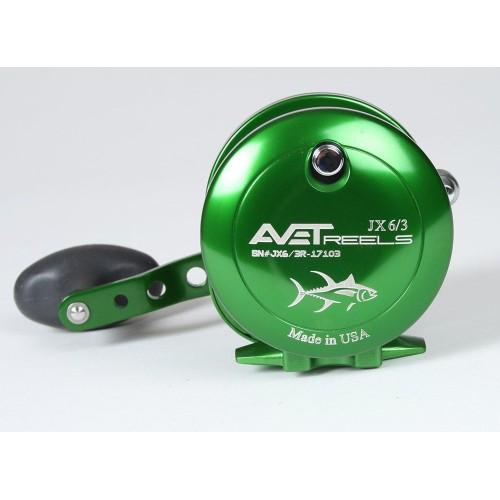 Carrete Avet Reels JX 6.0 RH-GREEN
