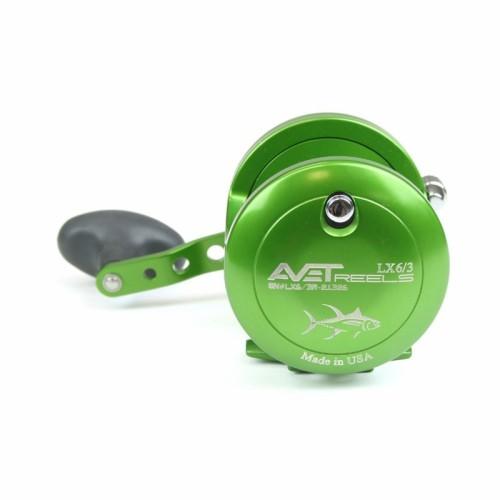 Carrete Avet Reels LX 6.0 RH-GREEN