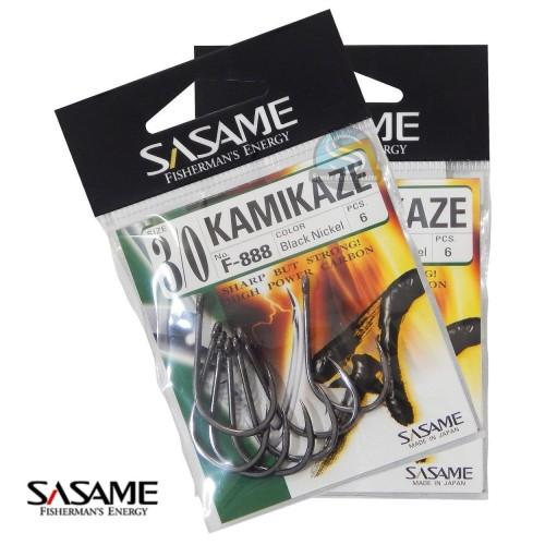 Anzuelo SASAME KAMIKAZE BLACK 1