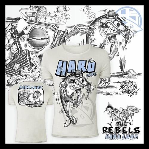 Camiseta de pesca HotSpot Desing HARD LURE Talla M