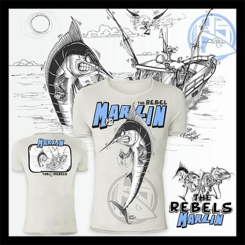 Camiseta de pesca HotSpot Desing MARLIN Talla L