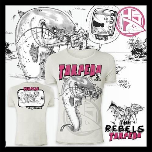 Camiseta de pesca HotSpot Desing TORPEDO Talla XL