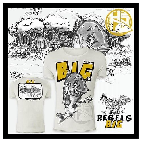 Camiseta de pesca HotSpot Desing BIG Talla L