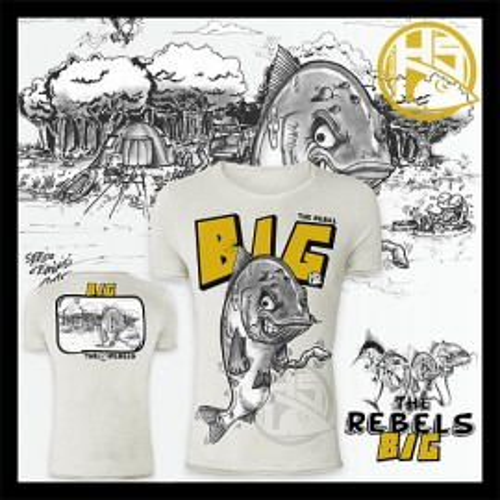 Camiseta de pesca HotSpot Desing BIG Talla XL
