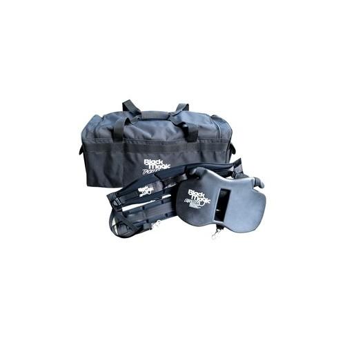 Kit BLACK MAGIC  Equalizer Fighting Belt and Harness Set  STANDAR + PLACA XL