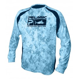 Camiseta de pesca PELAGIC TAILS UP! TEE - Youth Talla L