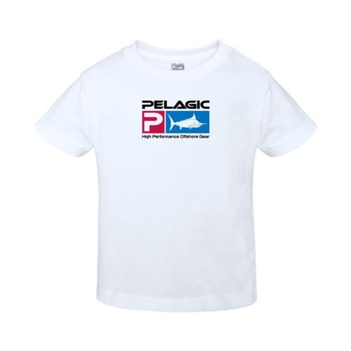 Camiseta de pesca PELAGIC DELUXE TEE - Kids Talla 4T