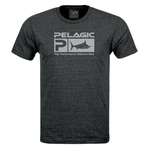 Camiseta de pesca PELAGIC BLACK LABEL DELUXE TEE Talla M