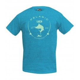 Camiseta de pesca PELAGIC BLACK LABEL CIRCLE LOGO TEE Talla L