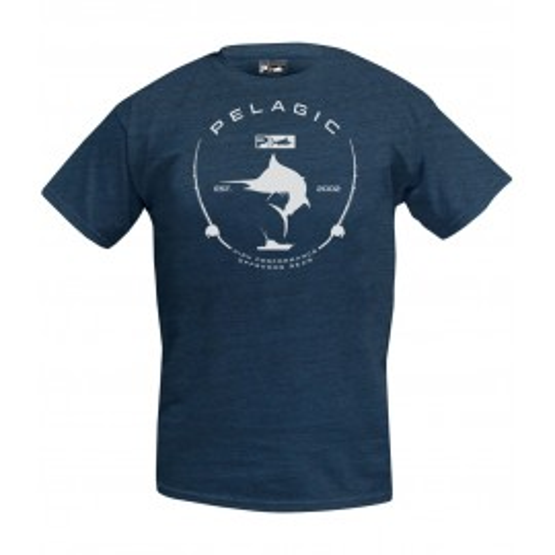 Camiseta de pesca PEAGIC PREMIUM ELECTRIC MARLIN TEE Talla L