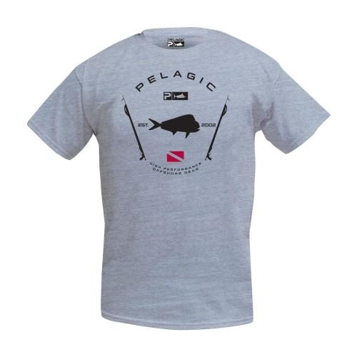 Camiseta de pesca PELAGIC PREMIUM ELECTRIC BLUEFIN TEE Talla L