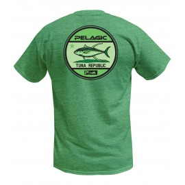 Camiseta de pesca PELAGIC BOARDWALK TEE Talla M