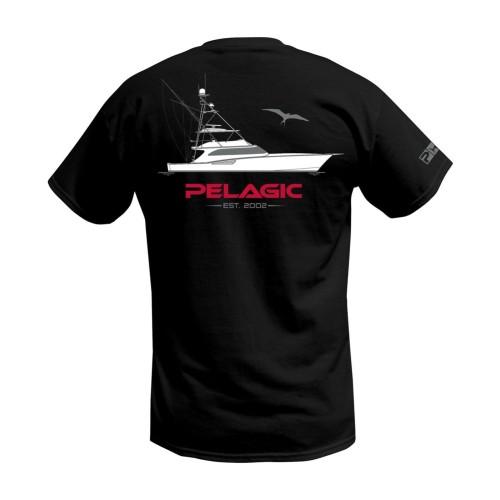 Camiseta de pesca PELAGIC TWIN DIESEL POCKET TEE Talla M