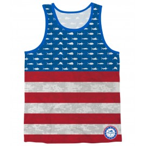 Camiseta de pesca PELAGIC AMERICAMO TANK Talla S