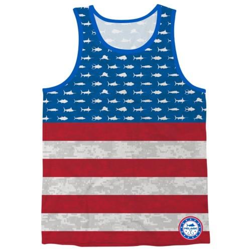 Camiseta de pesca PELAGIC AMERICAMO TANK Talla M