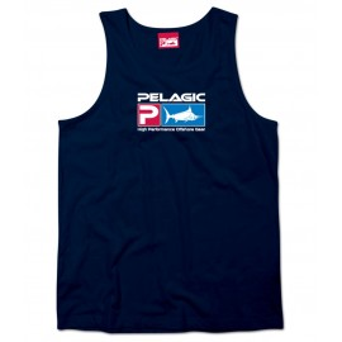 Camiseta de pesca PELAGIC DELUXE LOGO TANK II Talla L