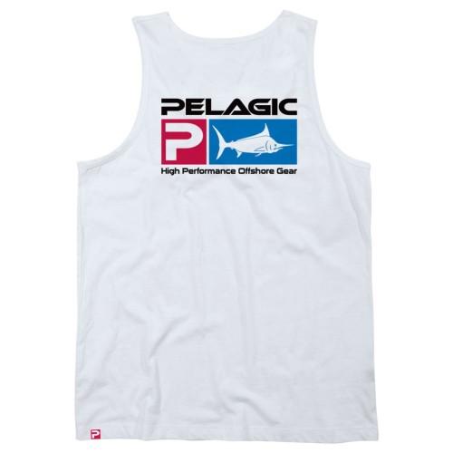 Camiseta de pesca PELAGIC DELUXE LOGO TANK II Talla M