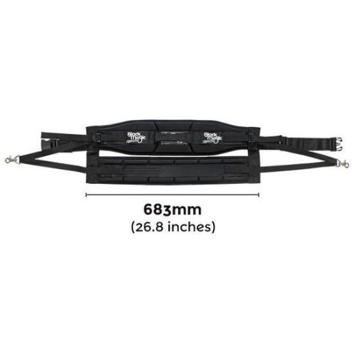 Kit BLACK MAGIC  Equalizer Fighting Belt and Harness Set  JUNIOR