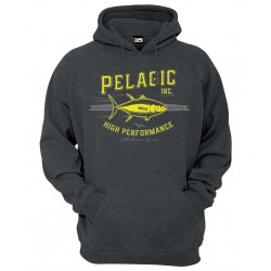 Sudadera de pesca Pelagic Foamer Hoody Heather