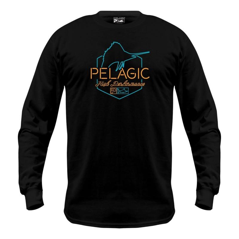 Camiseta de pesca PELAGIC OPEN LATE LS TEE Talla M