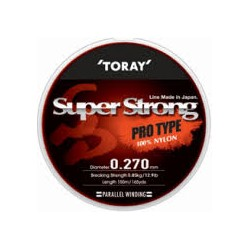 Monofilamento TORAY SUPER STRONG  PRO TYPE 0.24